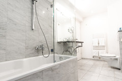 Übersicht eines Badezimmers