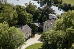 Blick von Oben auf die Villa Vogelsang inkl.. Ruhr